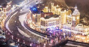 Курорт «Роза Хутор» вошел в топ лучших городов для новогоднего отдыха