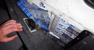 В Сочи задержаны автомобили с контрабандной табачной продукцией