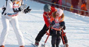 На «Роза Хутор» начались бесплатные горнолыжные занятия для детей с особенностями развития
