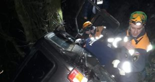 Спасатели помогли водителю, зажатому в салоне автомобиля