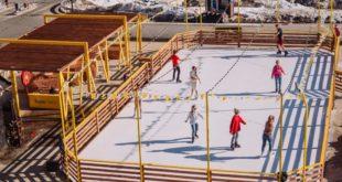 Покататься на коньках в горах Сочи можно бесплатно