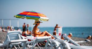 В Сочи одномоментно находится 210 тысяч туристов