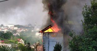 Сотрудники МЧС ликвидировали пожар в частном доме