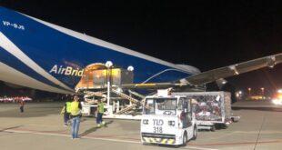 В Сочи прибывают авиагрузы для «Формулы-1»