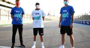 Даниил Квят и российские пилоты Формулы 2 поддержали акцию «Пожалуйста, дышите!»
