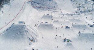 На «Роза Хутор» открывается самый большой в России сноупарк