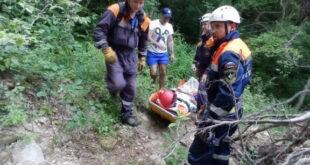 Туристы Сочи стали чаще обращаться за помощью к спасателям