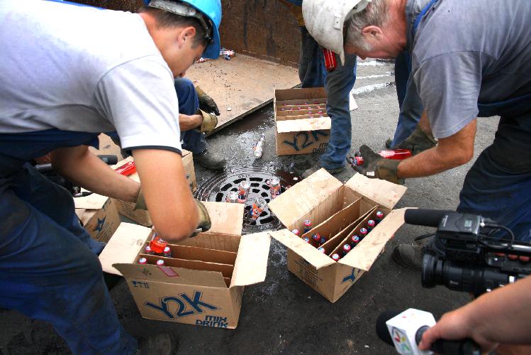 В Сочи из незаконного оборота изъято более 20 тысяч литров алкоголя