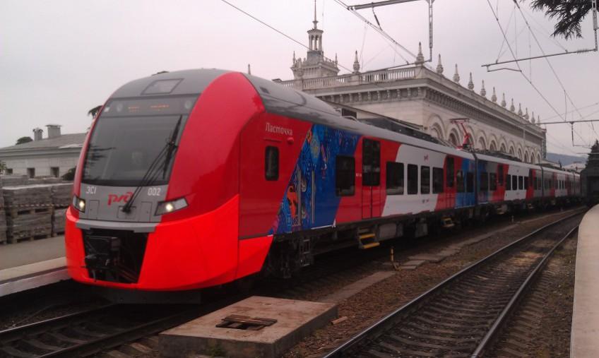Бесплатный аудиогид стал доступен в поездах Сочи