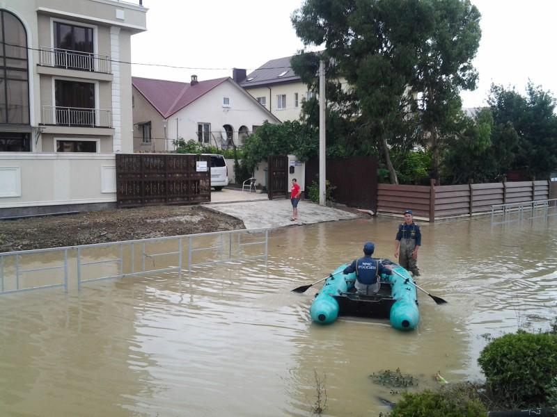 В Сочи река Кепша может подтопить жилые дома из-за обильных дождей